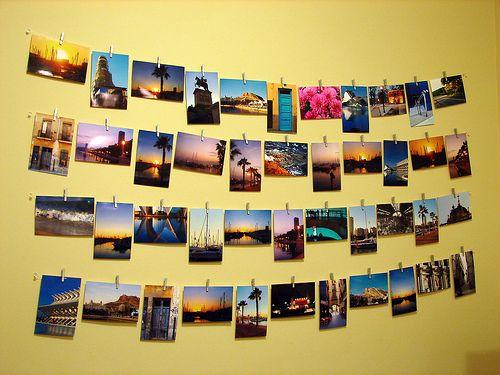 画像 : 【ディスプレイ術】写真・ポストカードのオシャレな飾り方実例集【インテリア】 - NAVER まとめ