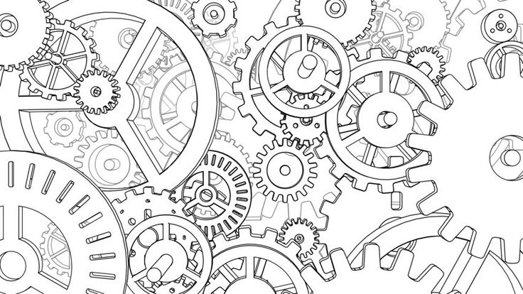 Image result for cogs and gears drawing