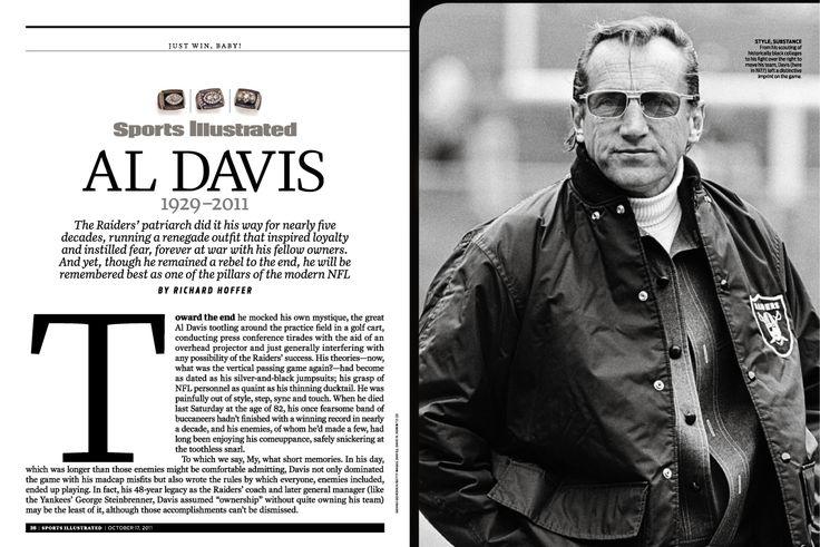 American Badass: Al Davis. #Raiders