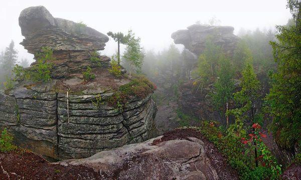 Туристические места Пермского края - Каменный город