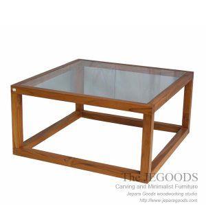 Pesagi Kotak Coffee Table Teak Minimalist Contemporary Furniture by Jepara Goods Woodworking Studio Indonesia. #teakfurniture #minimalistcoffeetable #minimalistfurniture #indonesiafurniture #teakcoffeetable