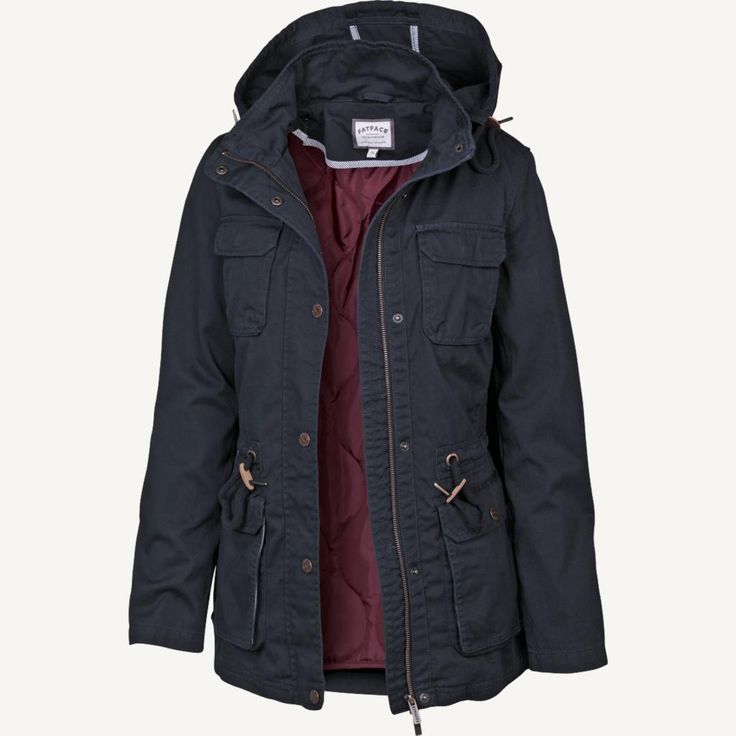 Evesham Hooded Jacket at FatFace #designedforeveryday #FatFace