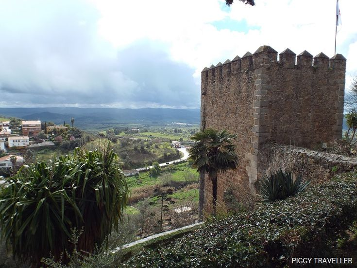 Views from the fortress. Jerez de los Caballeros, Extremadura (Spain). Post: http://www.piggytraveller.com/blog/jerez-de-los-caballeros-knights-templar-extremadura/