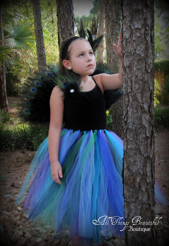 Peacock Tutu  Peacock Halloween Costume Peacock by AllThingsGrand, $89.99