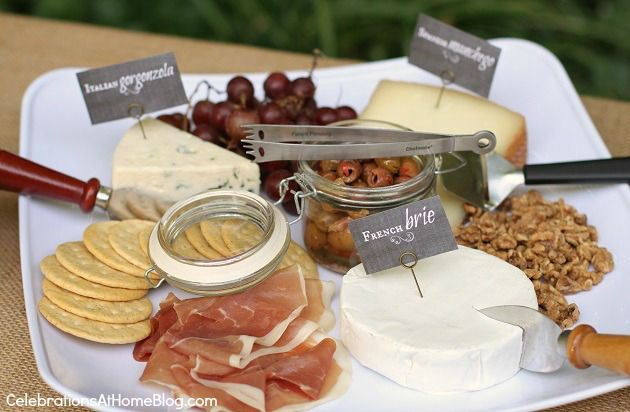 a cheese plate is always great!