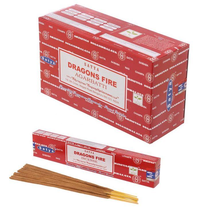 Satya+Nag+Champa+Incense+Sticks+-+Dragon+Fire+(12+Packs)