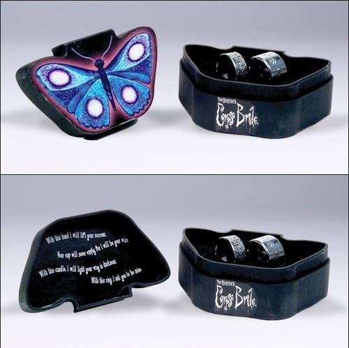 McFarlane Corpse Bride 2 Wedding Rings Replica Box Set | eBay