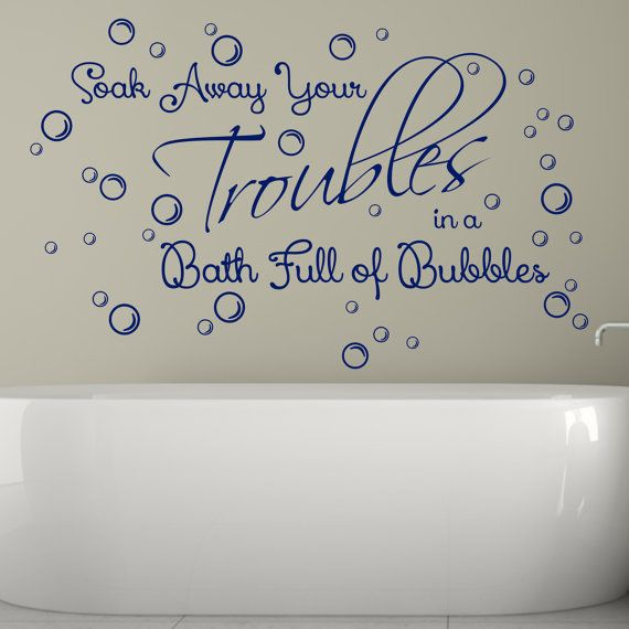 Best HOME DECOR Put The Writing On The Wall And Photo - Vinyl vinyl wall decals bubbles