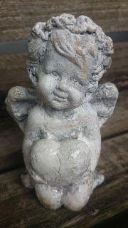 Na starej ławce : Anioł z klimatem