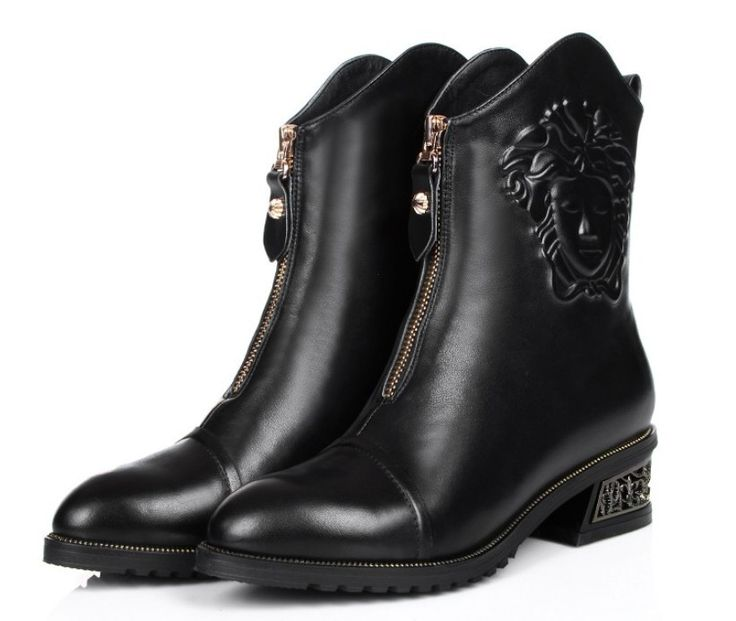 Cheap shoes women boot, Buy Quality boots red wing shoes directly from China shoes shi Suppliers: Winter Genuine Leather Women's Boots 2014 NEW With Fur Warm Snow Boots Sexy High Heels Shoes Woman Knee High BootUS $ 14
