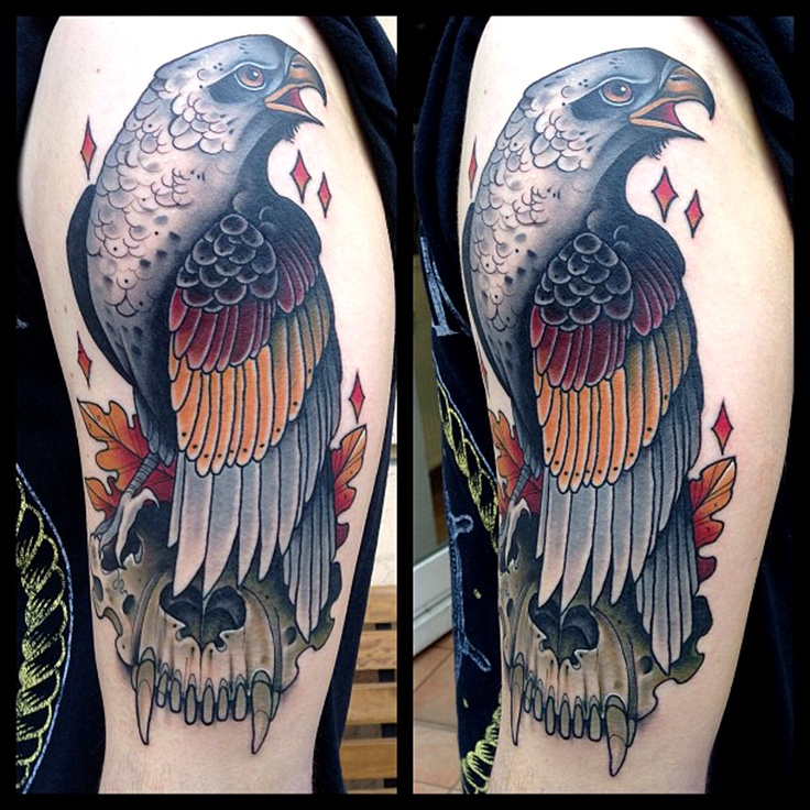 Tattoo Quotes Hawk: 40 Best Images About Hawk Tattoo Design Ideas On Pinterest