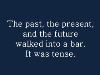 Grammatically dramatic?