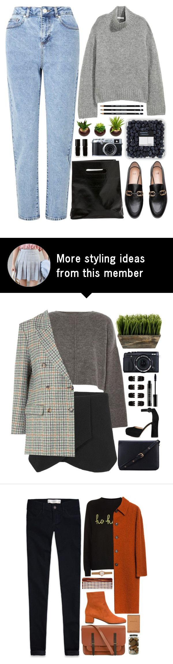 """""""The Legend of the Blue Sea"""" by annaclaraalvez on Polyvore featuring H&M, Miss Selfridge, Marie Turnor, The New Black and Fujifilm"""