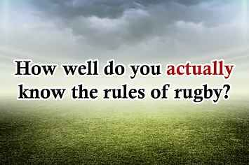 How Well Do You Actually Know The Laws Of Rugby?