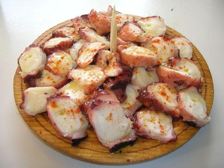 El famoso pulpo de Lugo (Falicia, España) este me da igual donde, solo quiero hartarme de comerlo