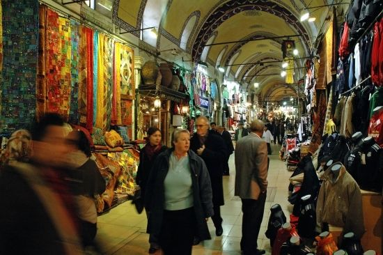 Большой базар в Стамбуле личная фотография.