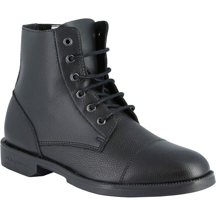 EQUITAÇÃO - calçado Impermeáveis, Chuva - Botins Equitação CLASSIC Ad FOUGANZA - Calçado Impermeável