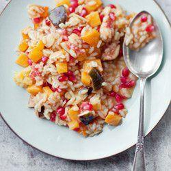 Egzotyczne risotto z owocami