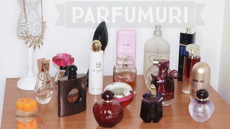 Colectia de parfumuri 2017 || Maria Dumitrescu