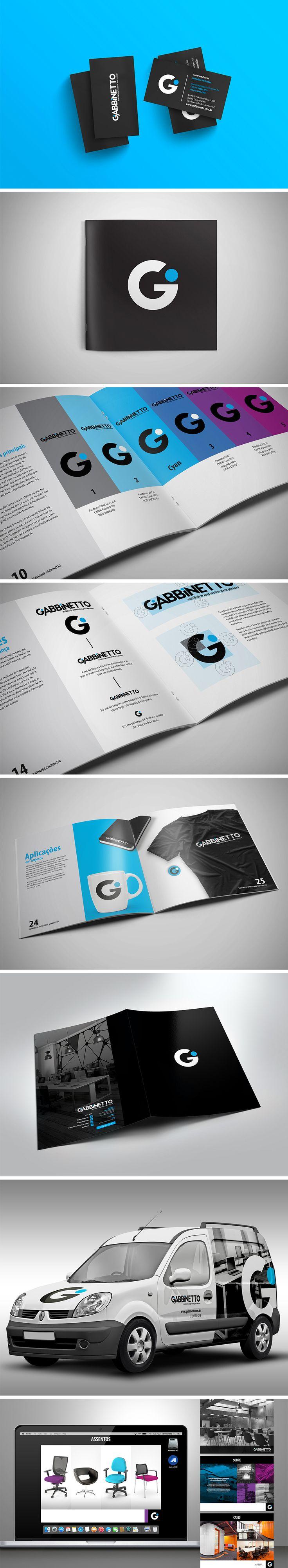 Além da nova identidade visual da marca - toda embasada em um manual -, a GO! cuidou também da apresentação de prospecção da empresa.