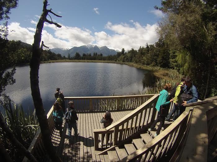 Loving the awesome views at Lake Matheson near Franz Josef, New Zealand!  #GoPro #NZ #NewZealand