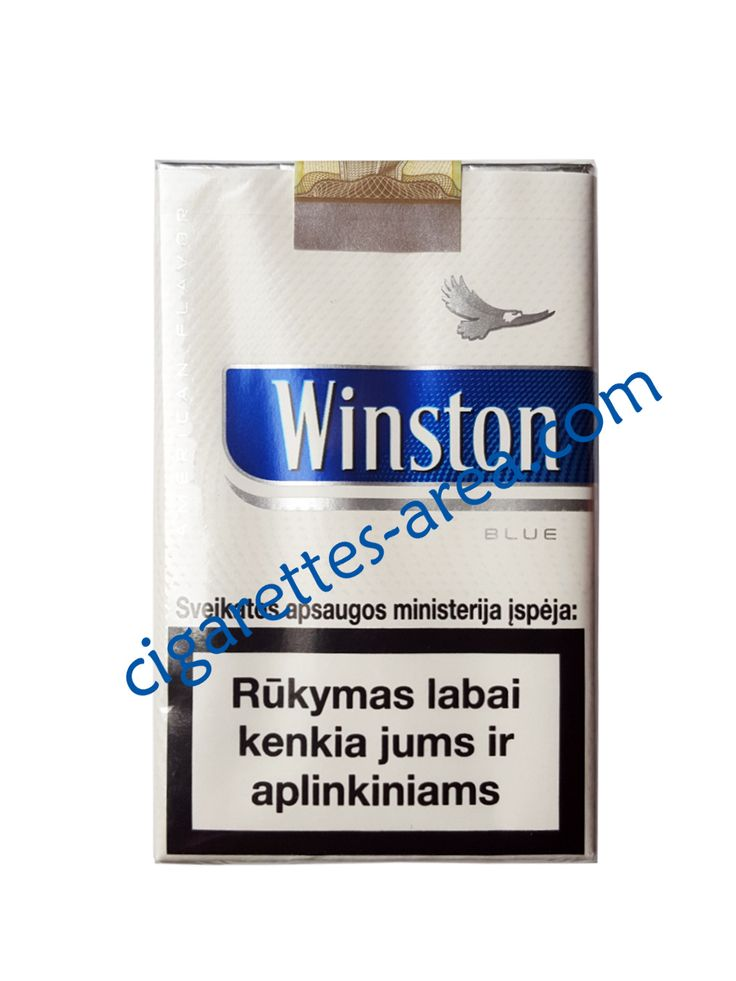 WINSTON Blue Soft cigarettes