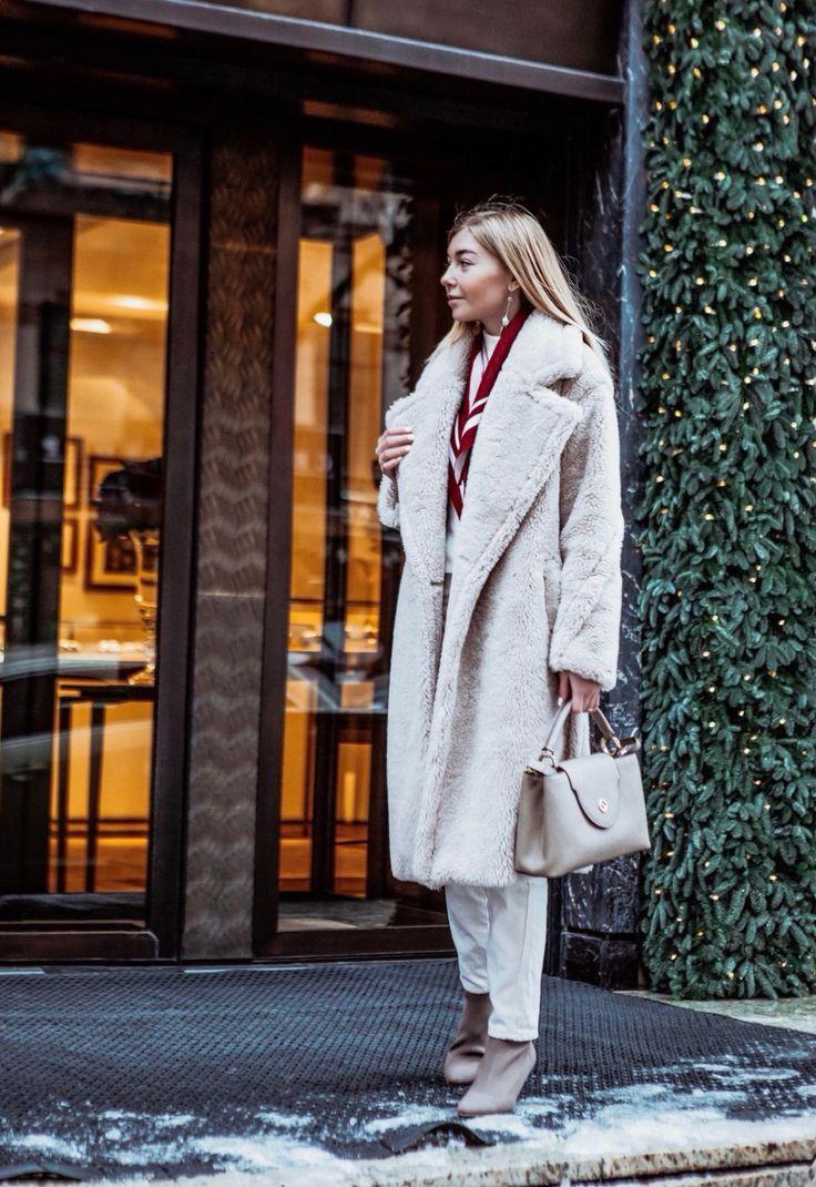 Зима street style. Teddy Max Mara