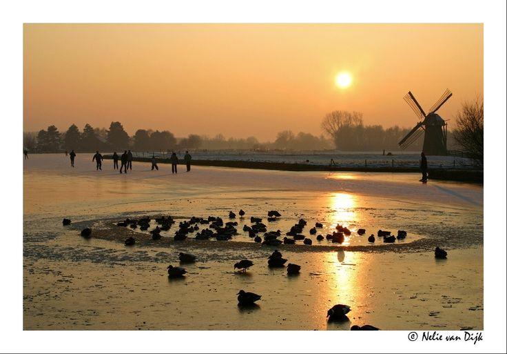 Schaatsen bij de Knip. The Netherlands