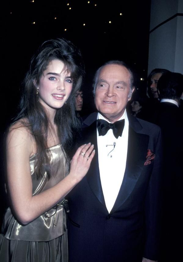 Brooke Shields & Bob Hope, 1981