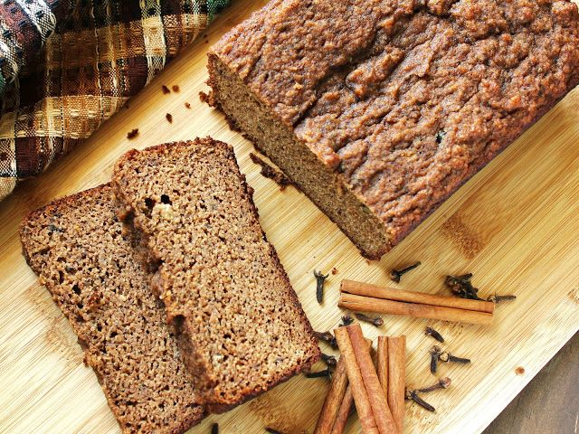 Chai Spice Almond Flour Banana Bread (Grain-Free, Gluten-Free, Paleo) - See more at: http://www.deliciousasitlooks.com/2012/09/chai-spice-almond-flour-banana-bread.html#sthash.gFuhRK5G.dpuf