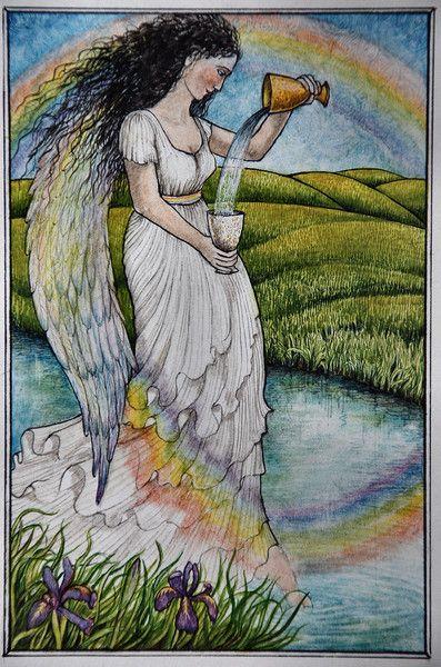 Iris, Goddess of the Rainbow