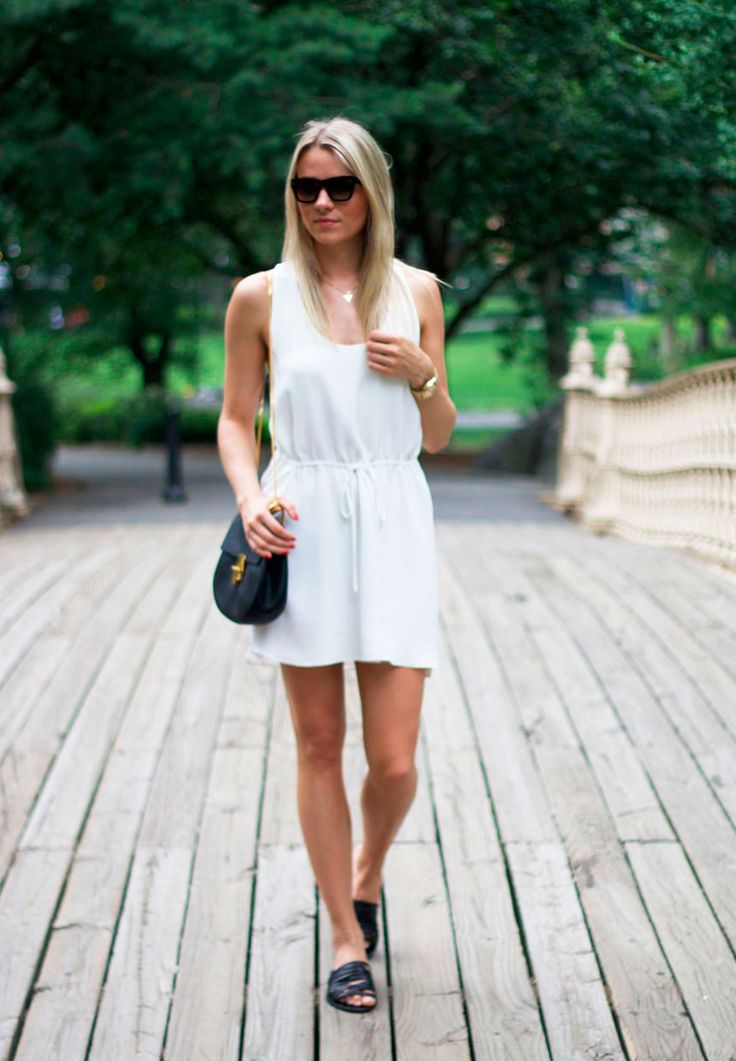A walk in Central Park <3 Visit my blog for more: malenemandrup.dk/ #littlewhitedress #nyc #newyork #travel #summer #mystyle #streetstyle #personalstyle #fashion #fashionista #style #outfit #ootd #fashionblog #blogger #girl