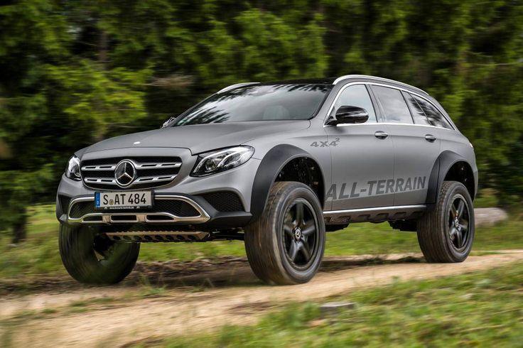 Engenheiro faz perua Mercedes com suspensão de… caminhão!   Quatro Rodas