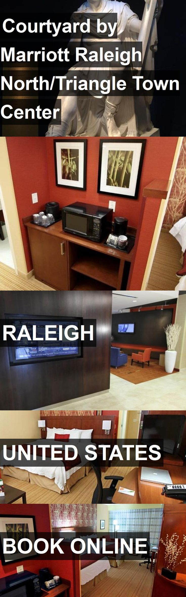 Hotel Courtyard by Marriott Raleigh North/Triangle Town Center in Raleigh, United States. For more information, photos, reviews and best prices please follow the link. #UnitedStates #Raleigh #travel #vacation #hotel
