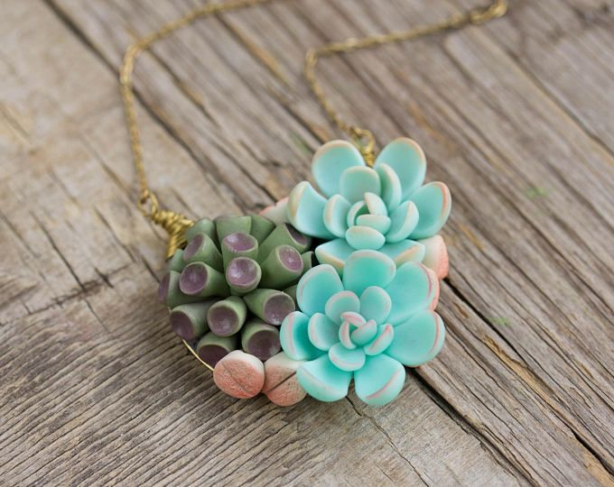 27 best Succulent jewerly images on Pinterest | Succulents, Birthday ...
