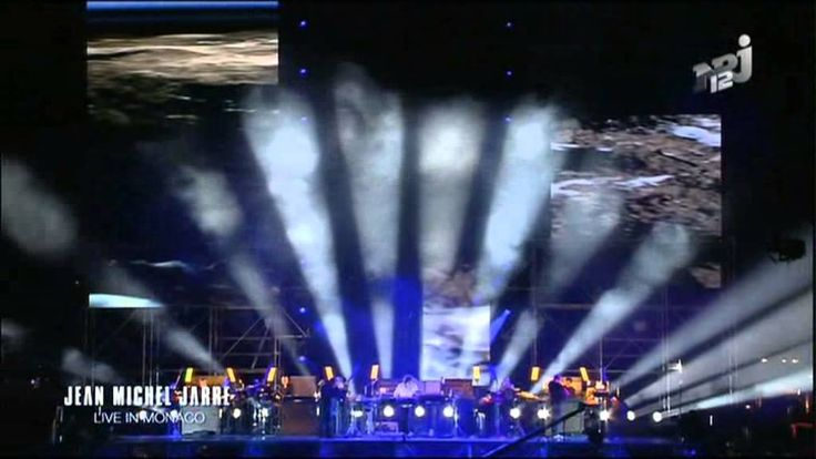 Jean Michel Jarre - Live in Monaco  2H-WarmUp/ GlobalDJ/LinkUp/Syncro.....   LiveEveryWhere...,