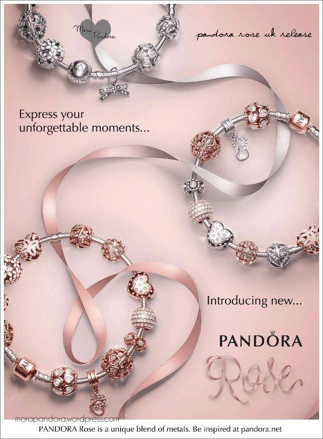 109 best PANDORARose gold images on Pinterest Pandora jewelry