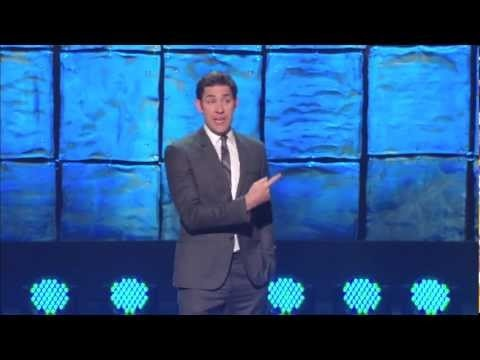 The Office star John Kransinski talks about what it's like to appear on The Ellen DeGeneres show in his tribute to the TV icon.