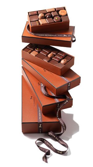 The perfect place to find yourself a special treat!  La Maison du Chocolat, Paris