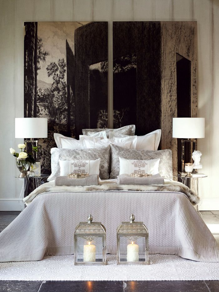 Schlafzimmer-Impressionen ZARA HOME FW14 Campaign, Bilder: © ZARA HOME