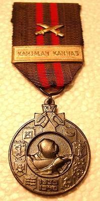 The OMSA Medal Database - Finland Winter War Campaign Medal 1939-1940 - OMSA