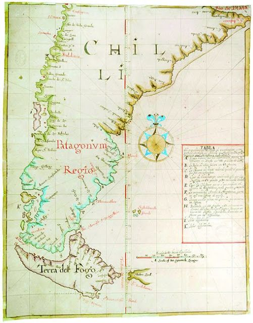 17 best images about mapas antiguos chile valparaiso for Mapa de santiago de chile