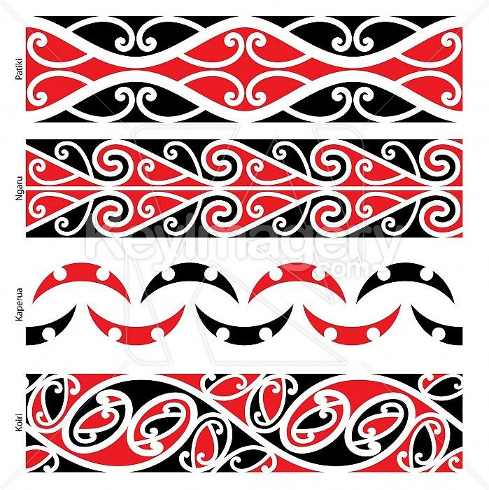 Image result for maori patterns and designs