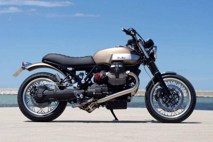 """Moto Guzzi Bellagio 940 """"MoriMoto"""" by Officine Rossopuro"""
