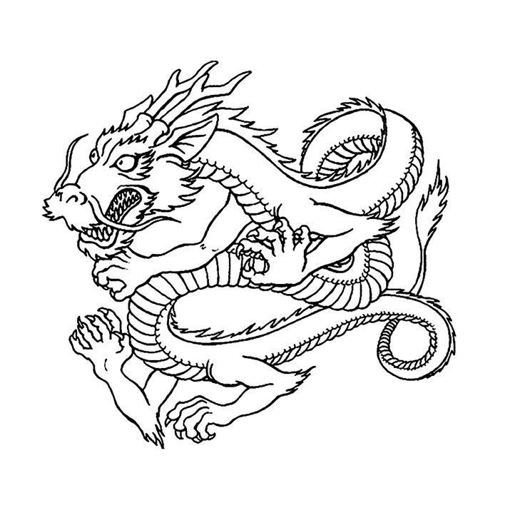 leuk voor kleurplaat draak draken