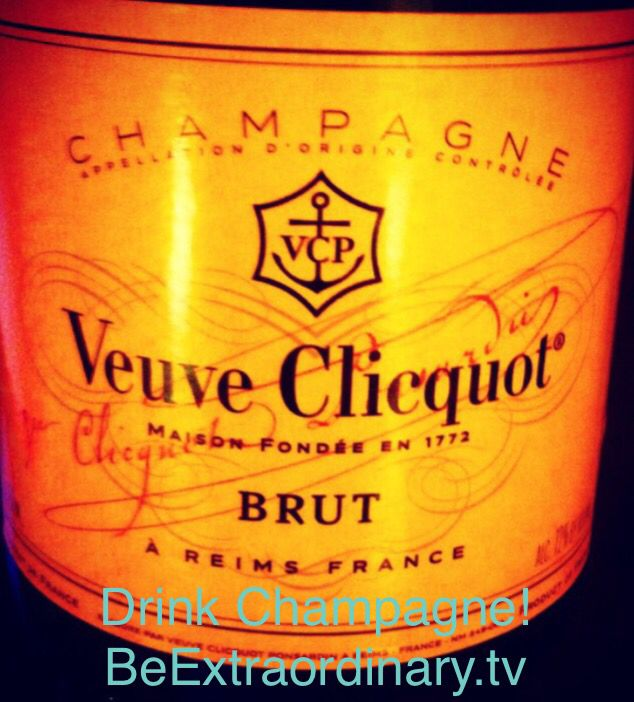 Champagne time! BeExtraordinary.tv