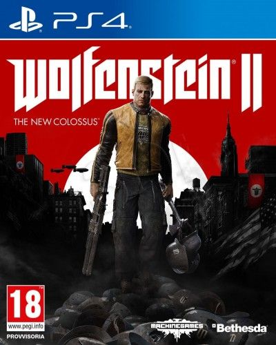 Gra Ps4 Wolfenstein Ii The New Colossus Juegos In 2018 Pinterest