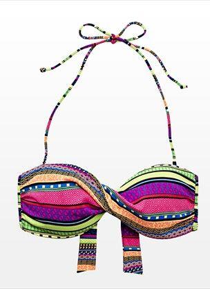 Aztec Bandeau Bikini Top - Garage