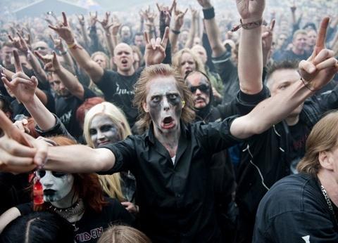 Metal Konzert