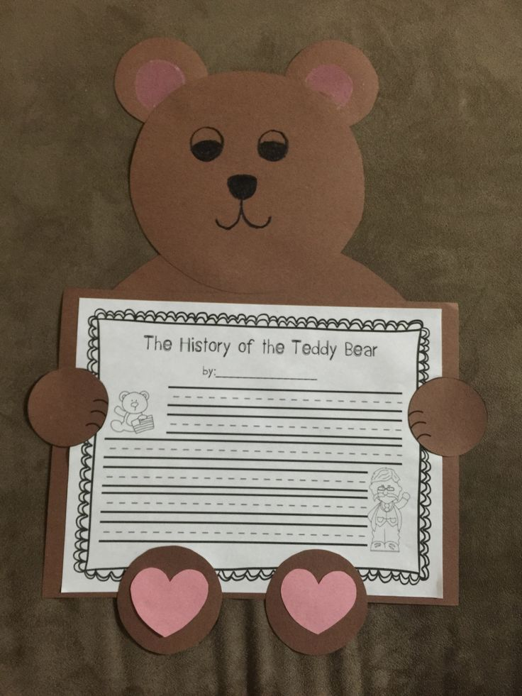 Did you know that teddy bears, one of the most beloved children's toys of all time, were inspired by President Theodore Roosevelt? This packet includes a one- page reading passage about the history of teddy bears, comprehension questions, and a writing and craft activity. This is a great way to combine Presidents' Day and Valentines' Day learning into one fun lesson! Teacher tip: after students learn about the history of teddy bears, throw a Teddy Bear Party to celebrate Valentine's Day!